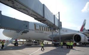 A380 Mega Jumbo Jet Dubai Airport