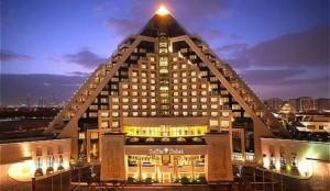 The Raffles Hotel in Dubai