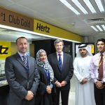 Hertz Club Gold Dubai Airport