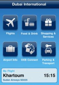 Dubai Airport Smartphone App