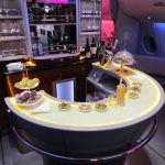 Emirates A380 inflight Bar