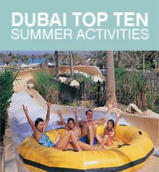 Top Ten Summer Activities in Dubai